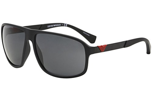 Emporio Armani EA 4029 Men's Sunglasses Black Rubber 64