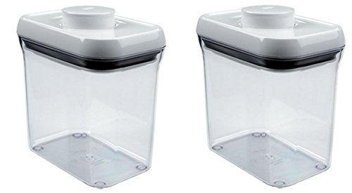 rectangle clear container - 3