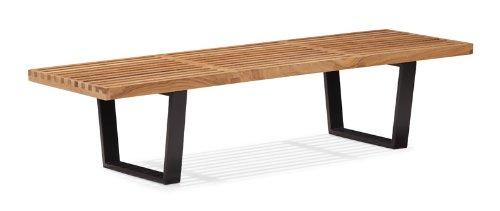Zuo Modern Heywood Triple Bench, - Chair Modern Folding Modern Zuo