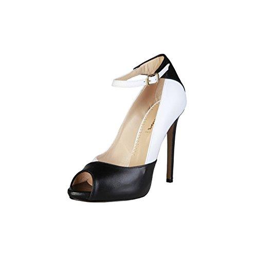 PIERRE CARDIN EW-1002 Mujer Pumps/Zapatos De Tacón Con Correa De Tobillo Ajustable Tacón: 12 cm