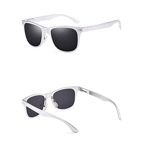 hombres del Espejo Gafas Sunglasses Ojos para conductor conducción de Espejo Driving C Polarized sol de w117tU