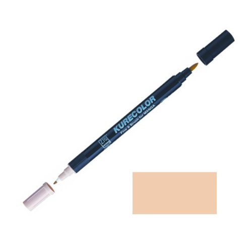 Zig-Kurecolor-Manga-Cartoonist-Fine-Brush-Dual-Tip-Marker-Rose-Beige