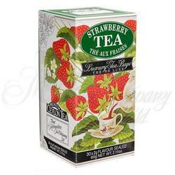 (Strawberry Tea 30 individually foil wrapped bags in carton)