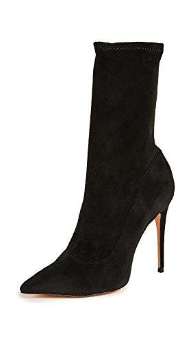 SCHUTZ Women's Mislane Point Toe Boots, Black, 8.5 B(M) US by SCHUTZ