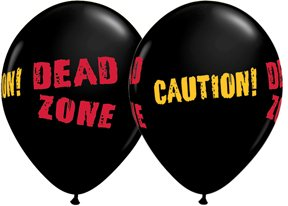 Qualatex Halloween Balloons - 10 Pack (Zombie)