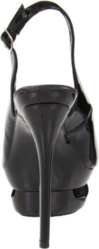 Pleaser - Sandalias mujer, color negro, talla 40