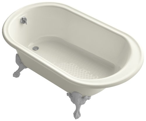 KOHLER K-710-B-96 Iron Works Historic Bath, Biscuit by Kohler