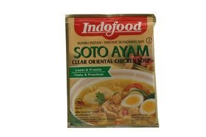 indofood soto ayam - clear oriental chicken soup (1.6oz) [3 units] (089686440584) by (Oriental Chicken)
