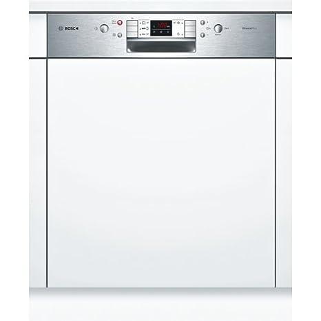 Bosch Serie 6 SMI53L35EU lavavajilla Semi-incorporado 12 ...