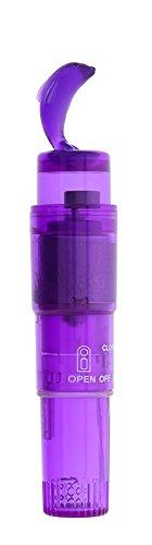Dream Toys Good Vibes Mini-Vibrator mit einem Delfin on the top, lila, Länge circa 13,5 cm, Durchmesser circa 2 cm