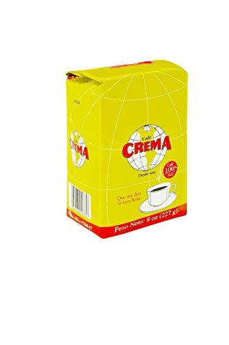 Crema Cafe (Café Crema Ground Coffee 8oz)