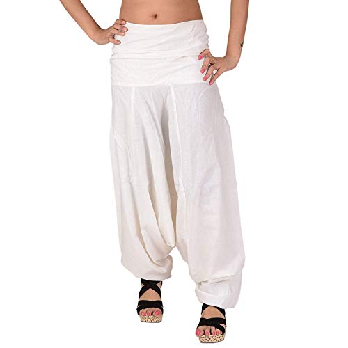 (SNS Pure Cotton Harem Pant Indian Trouser Yoga Pant)