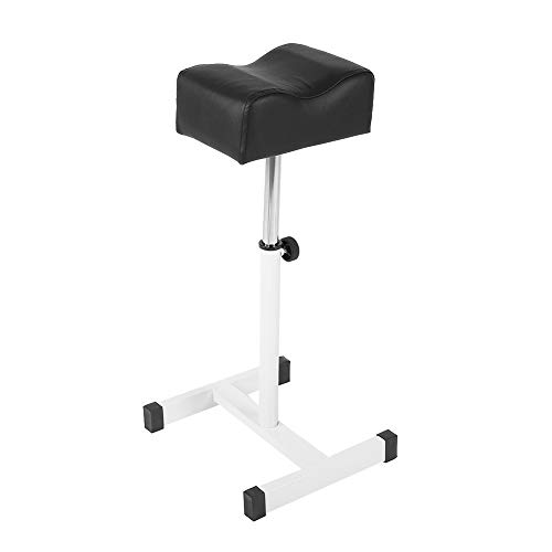 Aufee Pedicure Stool, Adjustable Portable Pedicure Manicure Footrest Manicure Foot Rest Desk for Home Salon Spa Equipment