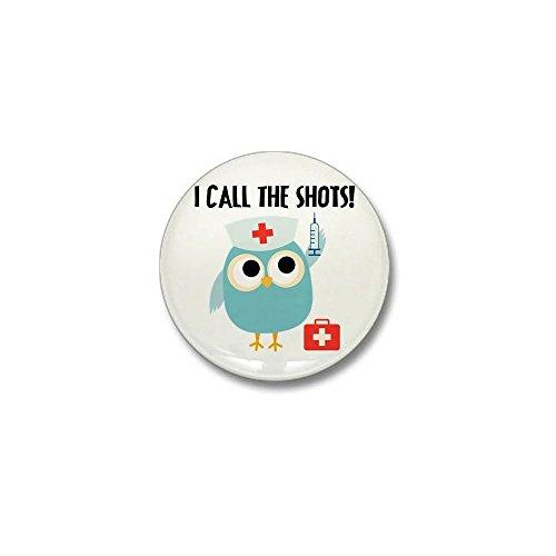 Nurse Mini Button - CafePress Owl Nurse Mini Button 1