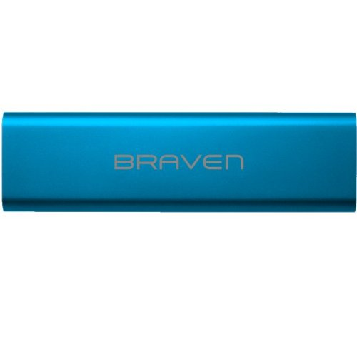 BRAVEN 570 Portable Wireless Bluetooth Speaker [10 Hour Playtime][Waterproof] Built-In 1400 mAh Power Bank Charger - Blue by Braven (Image #4)