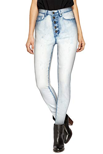(Women's Butt Lift V3 Super Comfy Stretch Denim Jeans P43238SK ICE 1)