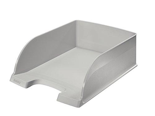 Leitz Jumbo Plus 52330001 - Bandeja para papel (A4, poliestireno), color blanco