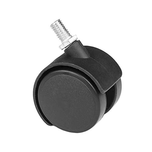 Qewmsg 5X Multifunctional Office Home Chair Caster Wheel Swivel Environmental Protection Rubber Wooden Floor Replacement 1.5'' by Qewmsg (Image #2)