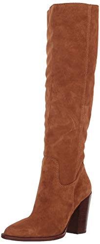 (Dolce Vita Women's Kylar Knee High Boot, Brown Suede, 7.5 M US)