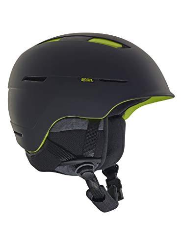 Anon Men's Invert Helmet, Black/Green, Large