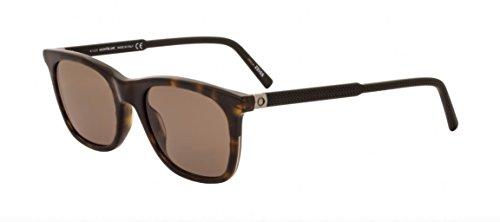 Mont Blanc Sunglasses MB607S 52J Dark - Sunglasses Mens Mont Blanc