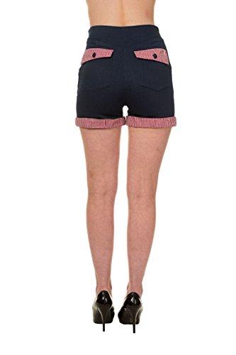 Blueberry Banned Shorts Hills Gingham Denim 8wxHwO