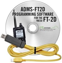 2dr Window - RT Systems Original ADMS-FT2D USB Programming Software (Version 5.00) with USB-68 USB to Special Mini-B Plug Cable for the FT-2DR