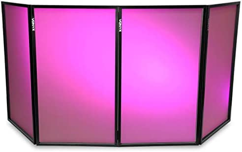 Vonyx Pantalla DJ plegable 1,20M x 70CM (4 Paneles): Amazon.es: Electrónica