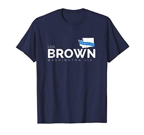 Lisa Brown Washington 5th 2018 Midterms Tshirt