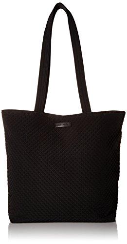 Microfiber Laptop Tote Bag - Vera Bradley Iconic Tote Bag, Microfiber,Classic Black Black