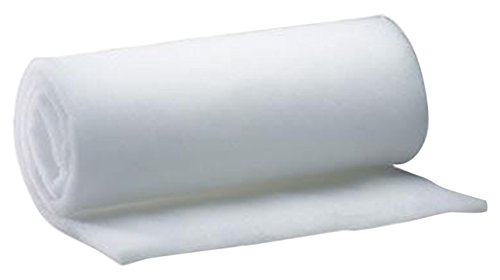 AK TRADING Wide Bonded Dacron Upholstery Grade Polyester Batting, 15 yd, 48'' W by AK TRADING