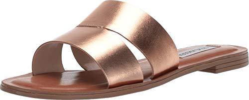 Steve Madden Womens Alexandra Heeled Sandals, Rose Gold, ()