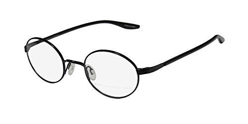 Barton Perreira Thoreau Mens/Womens Designer Full-Rim Shape Fashionable Hot Eyeglasses/Eye Glasses (45-22-145, Black) (Gold-designer-brille)