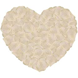 Neo LOONS 2000 Pcs Artificial Silk Rose Petals Decoration Wedding Party Color Blush