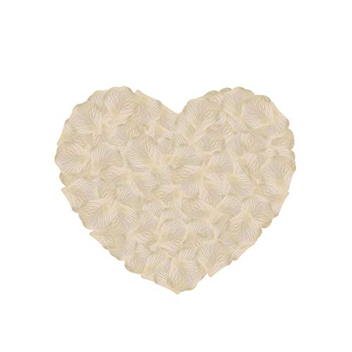 (Neo LOONS 2000 Pcs Artificial Silk Rose Petals Decoration Wedding Party Color Blush)