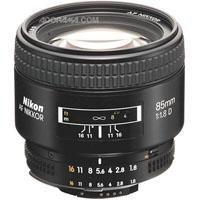 Nikon 85mm f/1.8D AF Telephoto Nikkor Lens with Hood - International Version (No Warranty) (Nikon 85 Mm D)