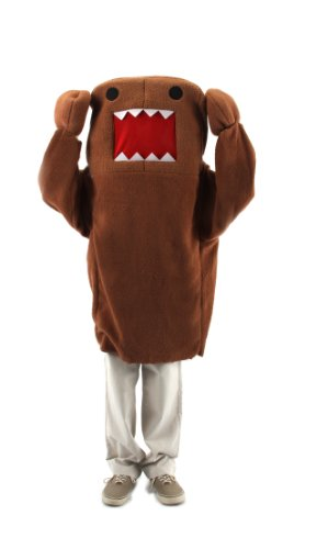 elope Domo Tween Delux Costume, Brown, X-Large -