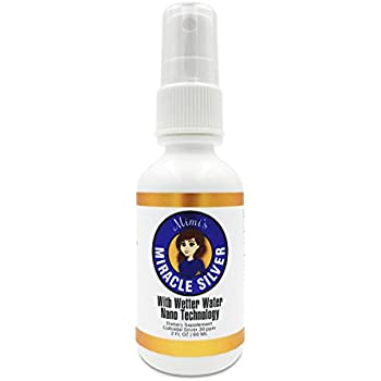 Mimi's Miracle Silver - Colloidal Silver with advanced technology enables rapid absorption. Spray bottle ensures sanitation, convenience and quickest delivery to body
