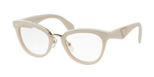 032dcf7b7b Prada ORNATE PR26SV Eyeglass Frames UFP1O1-51 - Ivory at Amazon ...