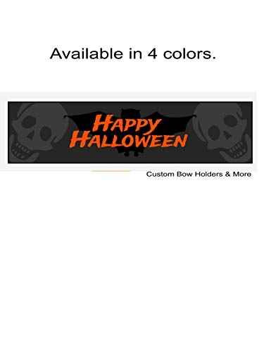 Happy Halloween Water Bottle Label Stickers, Water Bottle Halloween Water Bottle Stickers, Halloween Party Water Bottle, Bat & Skull Water Bottles, Set Of 7, Party Favor, Measures 8