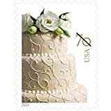 USPS Wedding Cake 70-cent Stamp 100 Stamps (5 sheet of 20): 2 ounce rate