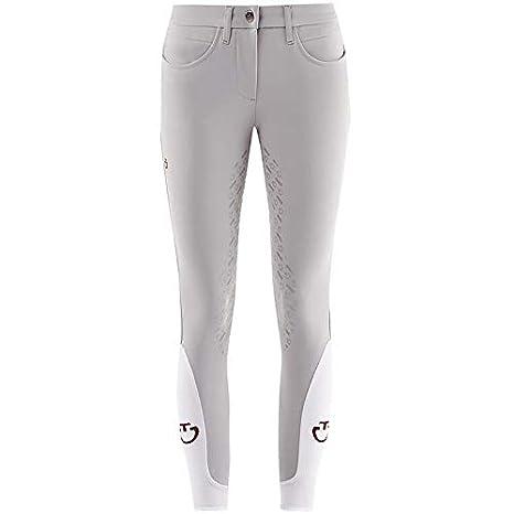 sale retailer 49e01 147c0 Cavalleria Toscana Pantaloni 3/4 Grip da Donna: Amazon.it ...