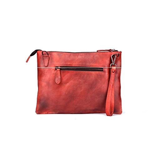 Simple De Rétro Chinois à Fait Sac Mode La Style à AJLBT Dames Main Style Red Bandoulière Sac nwpqxXA