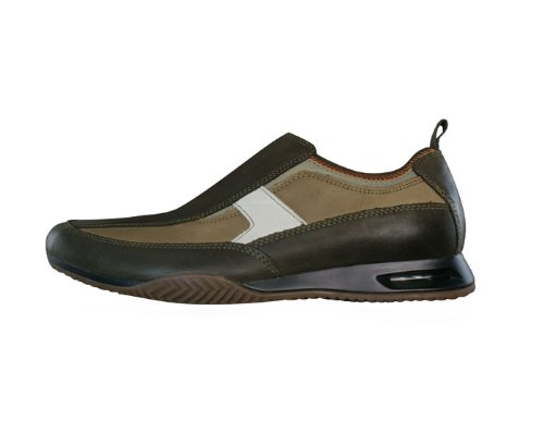 Hush Puppies Nitrous Slip On hommes Cuir chaussures / Chaussures - Brown