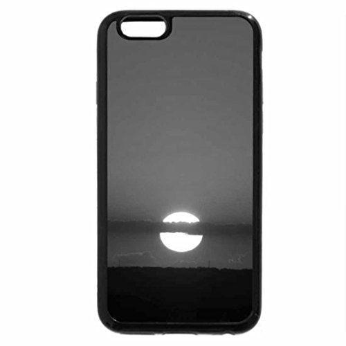 iPhone 6S Case, iPhone 6 Case (Black & White) - Cutting The Sun