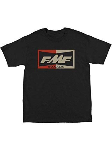 (FMF Racing Black Heather Tops T-Shirt (S, Black))