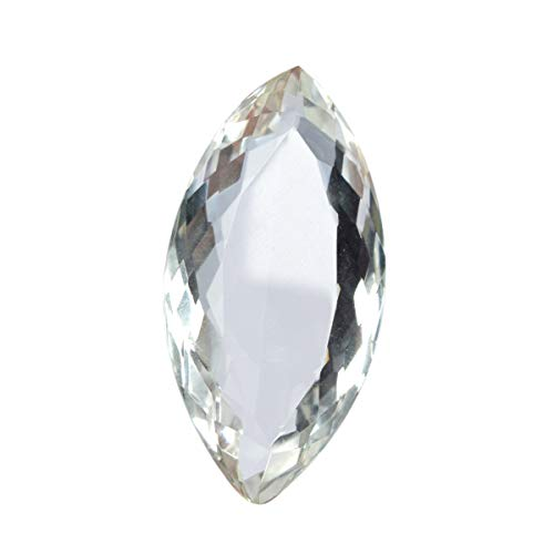Faceted White Topaz 65.55 Ct. Perfect Marquise Cut Loose Gemstone for Jewelry Making