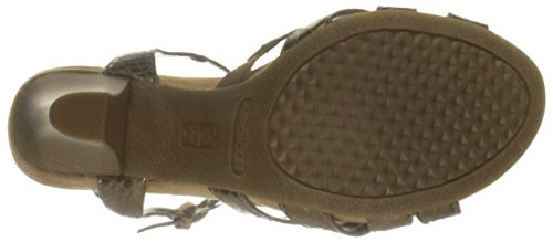 Aerosoles Women's Hearsay Dress Sandal Bronze Snake fRPeCT
