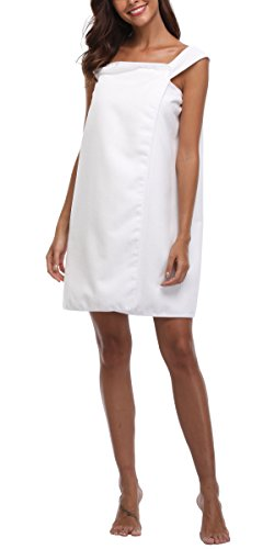 aa915dfd13 VIKEY Women s Spa Bath Wrap Shower Towel Cover up with Straps
