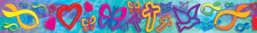 Carson Dellosa Christian Symbols Borders (3328) (Christian Bulletin Board Supplies)